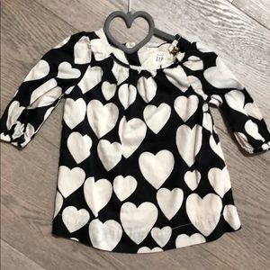 ⭐️ Baby gap heart printed dress